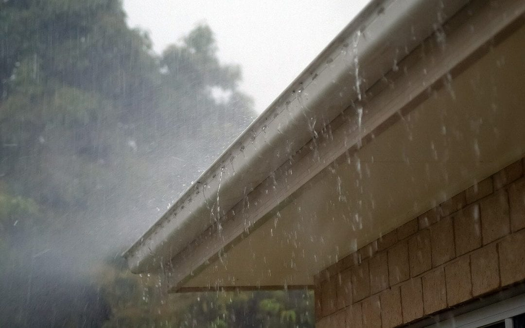 cleaning the gutters helps reduce humidity in the home